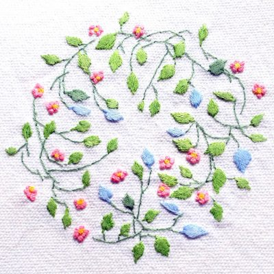 Patricia Van Ness Embroidery: Vines and Flowers #214