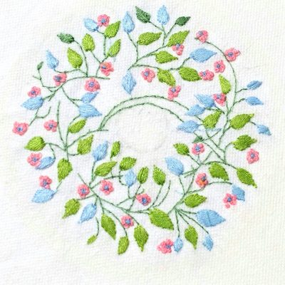 Patricia Van Ness Embroidery: Vines and Flowers #223