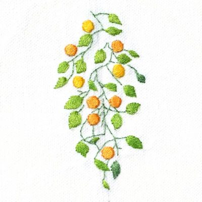 Patricia Van Ness Embroidery: Vines and Fruit #225