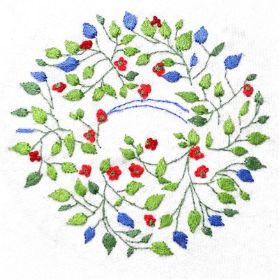Patricia Van Ness Embroidery: Vines and Flowers #233