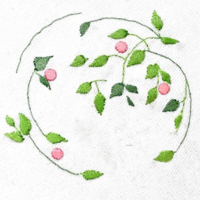 Patricia Van Ness Embroidery: Vines and Fruit #236
