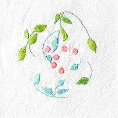 Patricia Van Ness Embroidery: Vines and Fruit #111