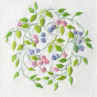 Patricia Van Ness Embroidery: Vines and Flowers #156