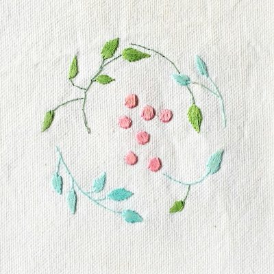 Patricia Van Ness Embroidery: Vines and Fruit #205
