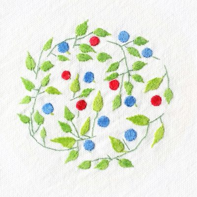 Patricia Van Ness Embroidery: Vines and Fruit #153