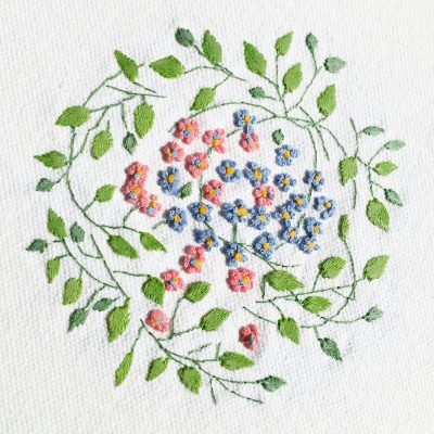 Patricia Van Ness Embroidery: Vines and Flowers #209