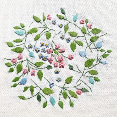 Patricia Van Ness Embroidery: Vines and Flowers #207
